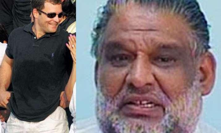 congress leader in kerala calls rahul gandhi joker