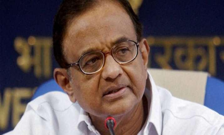 congress leaders present budget wishlist to chidambaram