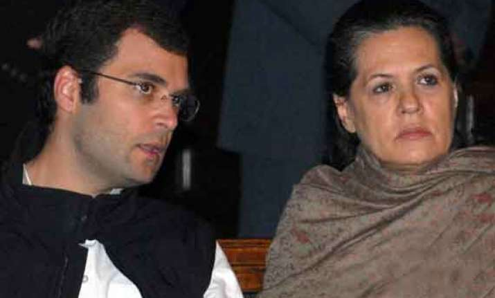 congress politics does not allow sonia rahul to speak bjp