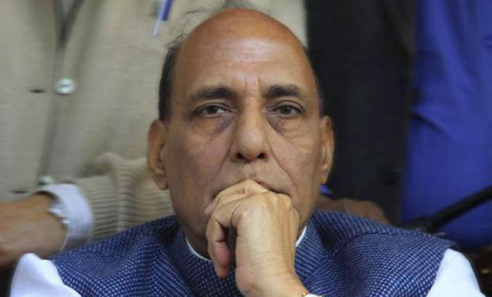 congress responsible for inflation says rajnath