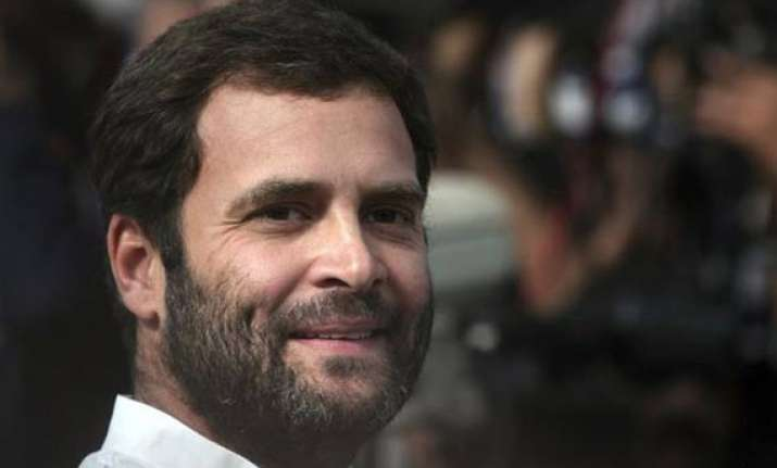 congress slams bjp for questioning rahul s absence in