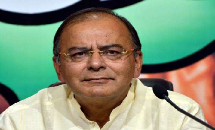 congress solely responsible for fracas in parliament jaitley