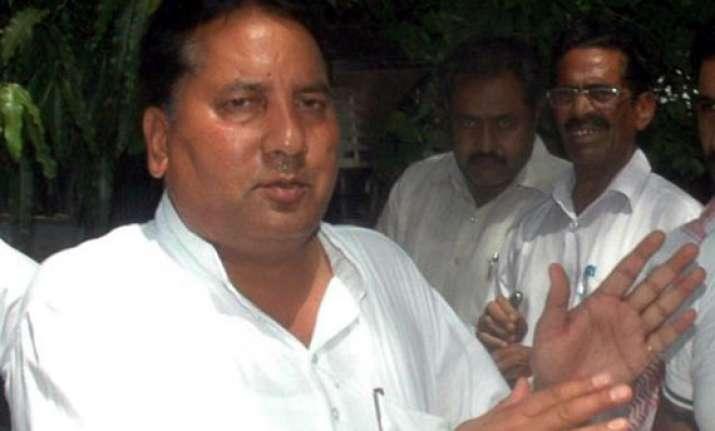 congress suspends former rajasthan minister babu lal nagar