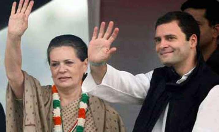 live reporting sonia rahul reject opinion polls say modi