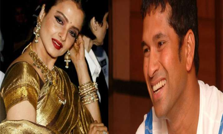 congress wants sachin tendulkar rekha to campaign in mp