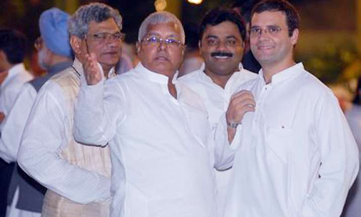 congress in strong position in up due to rahul says lalu