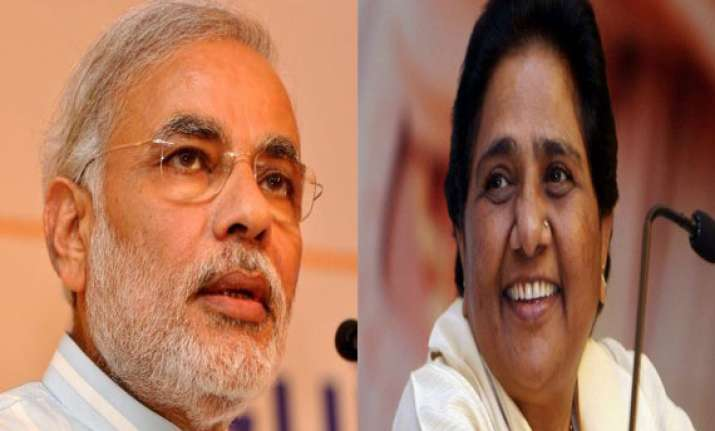 country will witness riots if modi comes to power mayawati