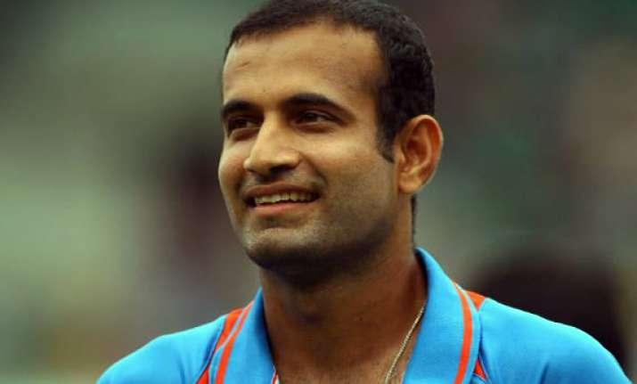 cricketer irfan pathan bats for modi