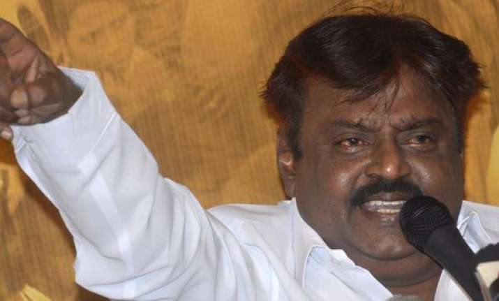 dmdk to boycott presidential poll