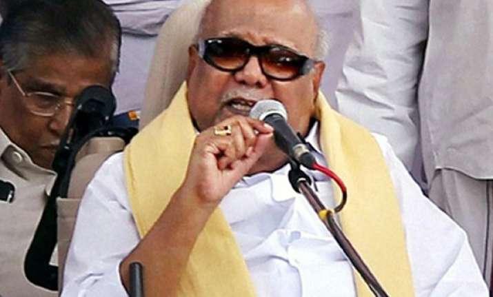 india should not participate in chogm dmk
