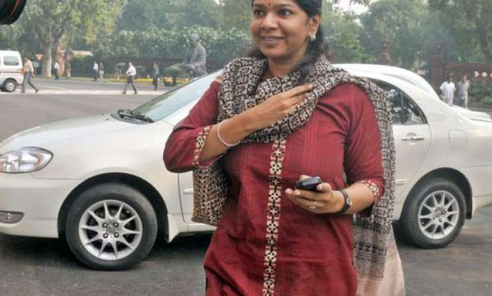 dmk sees congress support for kanimozhi in rs polls