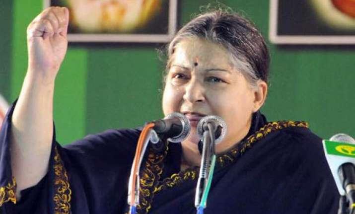 dmk has pushed tn behind gujarat punjab says jaya