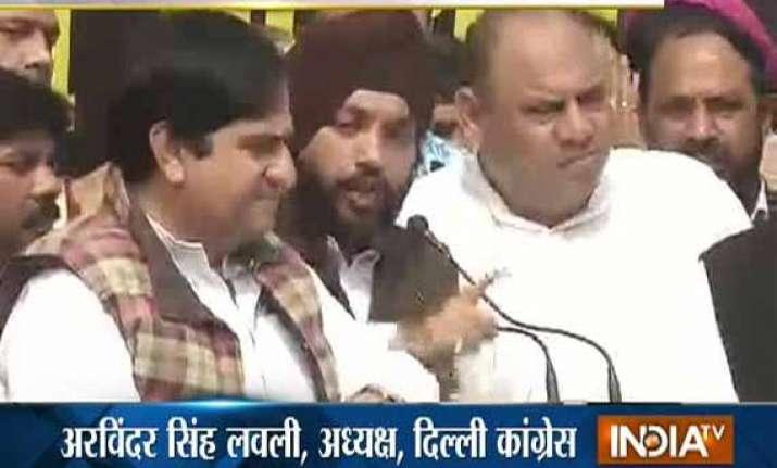 delhi congress launches pol khol campaign