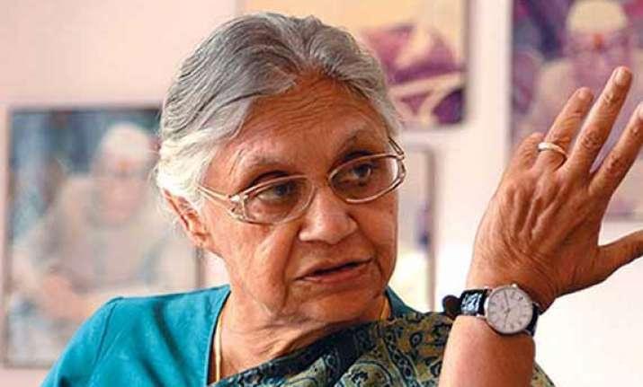 delhi assembly polls 2013 dikshit trashes bjp allegations
