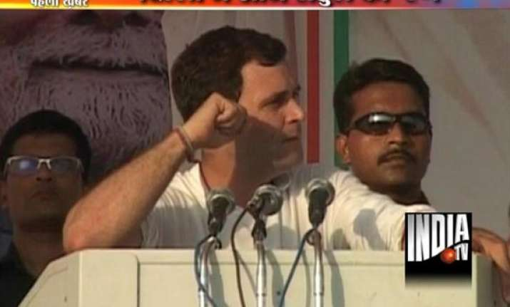delhi polls congress confident of fourth term says rahul
