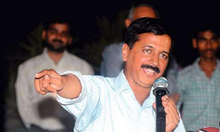 delhi polls kejriwal predicts 50 seats for aap