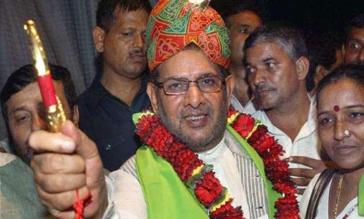 desperate modi should take pm s oath from bjp s president