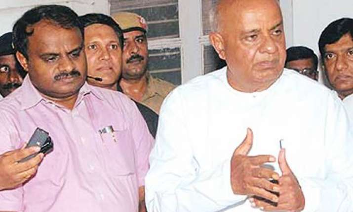 devegowda s son to sit on indefinite from saturday