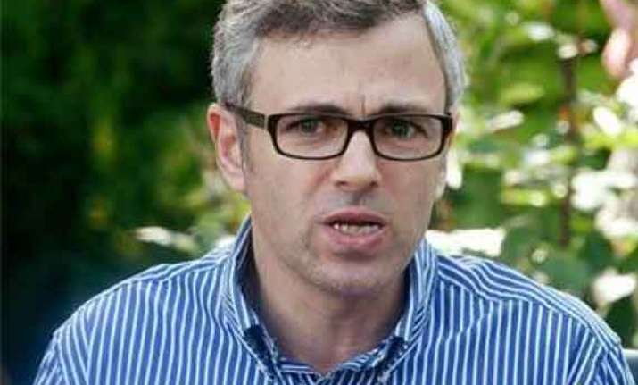 development of j k depends on railways omar abdullah
