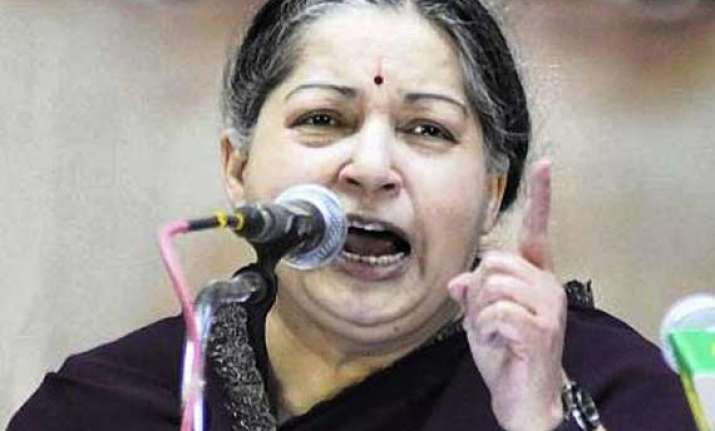dhoti issue cm jayalalithaa warns action against errant
