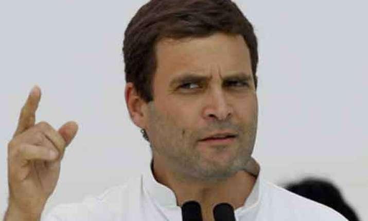 did indian mission facilitate vaidik saeed meet asks rahul
