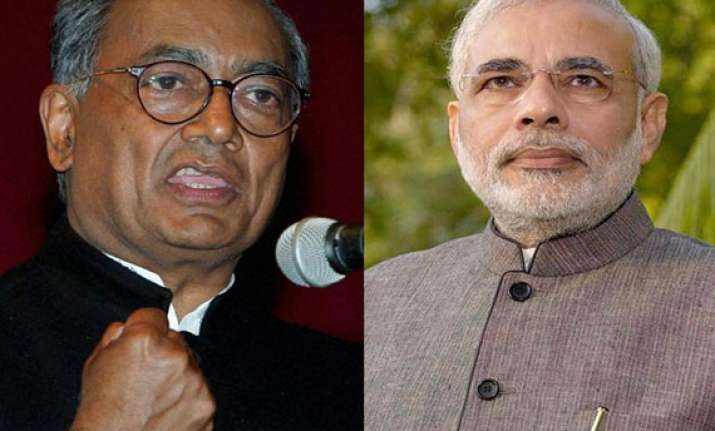 digvijay to take on modi as congress candidate in varanasi
