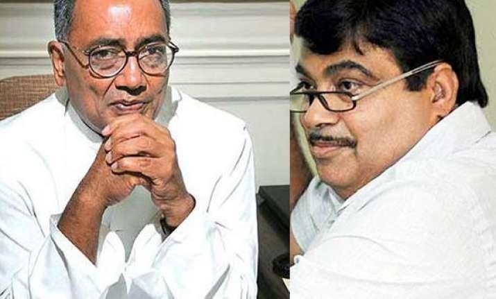 digvijay wants inquiry into gadkari s assets
