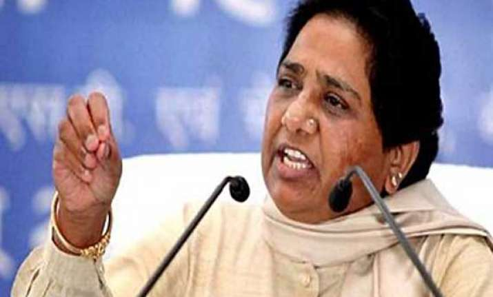 do not act in haste on article 370 mayawati to pm
