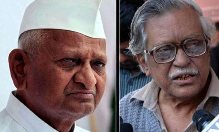 do not want to belittle hazare s role dasgupta
