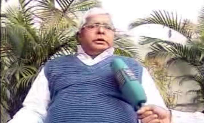 don t expect anything from this rail budget lalu prasad