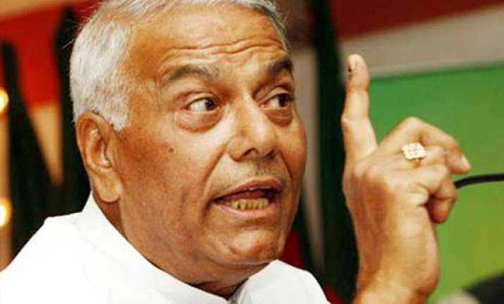 don t hold talks with pakistan yashwant sinha