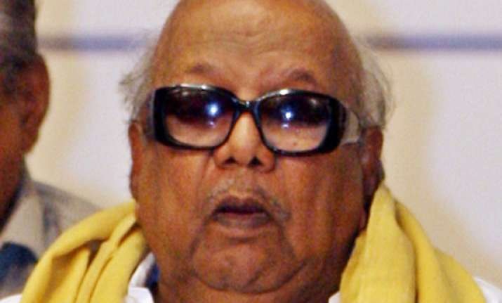don t participate in colombo chogm karunanidhi tells pm