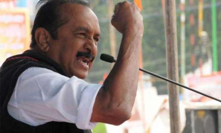 don t take part in lanka defence meet vaiko urges centre
