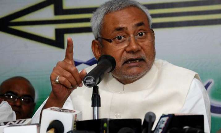 don t pass any judgement in haste says nitish kumar