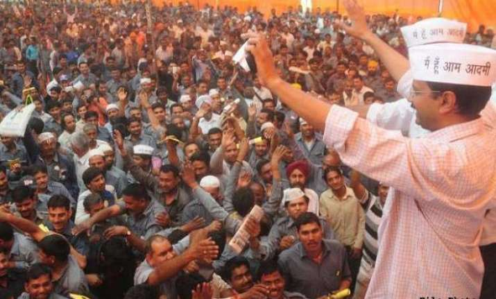 elect good people kejriwal tells voters