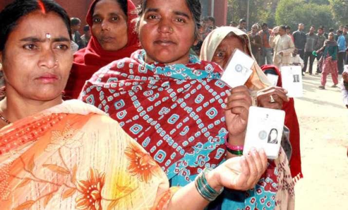 enthusiastic voting in chandigarh haryana