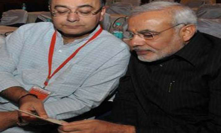 entire bjp is behind narendra modi says arun jaitley