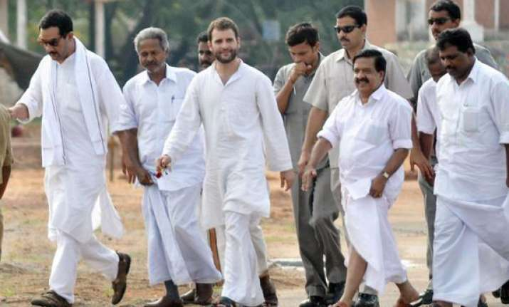 every vote for cpi m in kerala will help bjp rahul