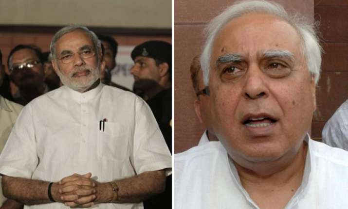 exit polls gave modi natural advantage kapil sibal