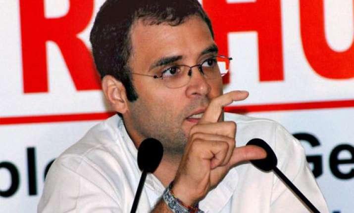 fdi will bring bonanza for farmers rahul tells voters