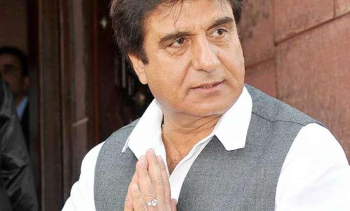 fir against raj babbar for violating poll code