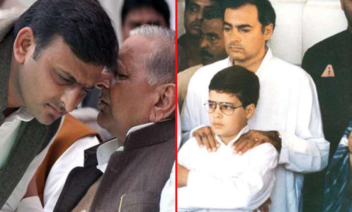 famous father son duos of indian politics