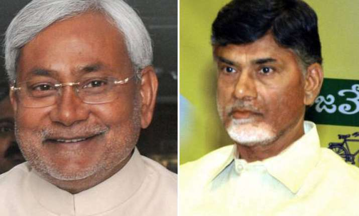 federal front tdp ready to join nitish says talks on