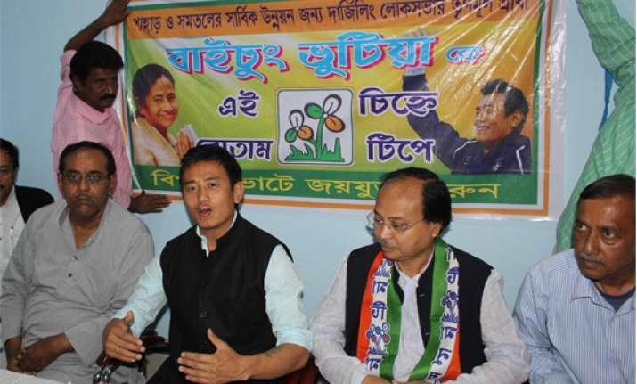 footballer bhutia eyes a political goal