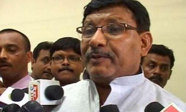 former bihar minister ramadhar surrenders bail plea rejected