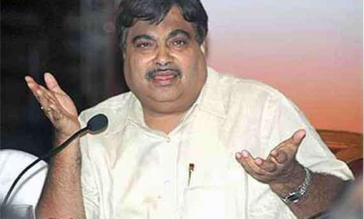 gadkari faces no pending probe says it department