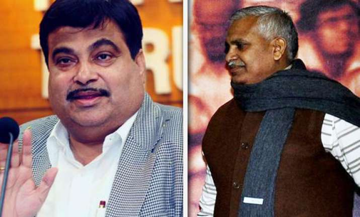 gadkari accepts kushwaha s offer after all round criticism