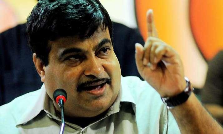 gadkari asks pm to publish list of black money account