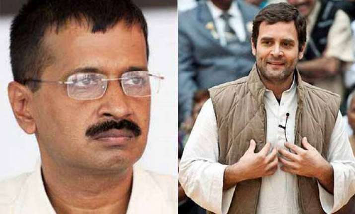 gas price issue kejriwal writes to rahul questions his