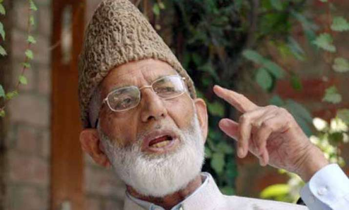 geelani statement sanjay saraf denies carrying message from